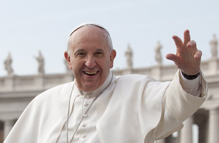 papa francesco nel salento