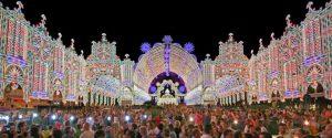 luminarie di santa cristina gallipoli